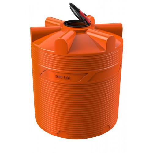 Емкость для перевозки воды и жидких удобрений V-3000 КАС