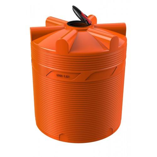 Емкость для перевозки воды и жидких удобрений V-5000 КАС