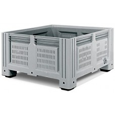 Перфорированный контейнер iBox 1130х1130х580 (на ножках)