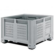 Перфорированный контейнер iBox 1130х1130х760 (на ножках)