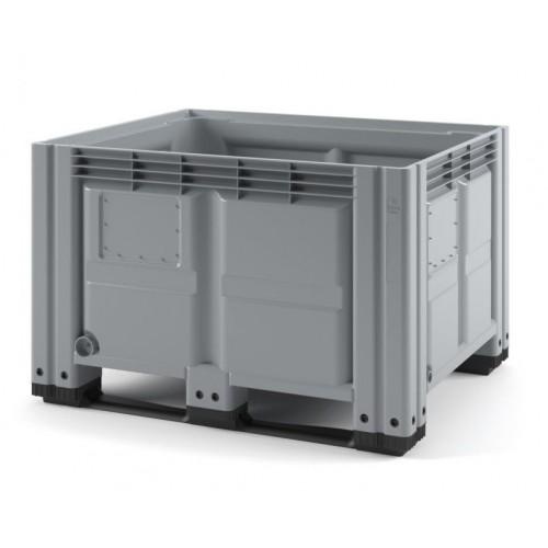 Сплошной контейнер iBox 1200х1000 (на полозьях)