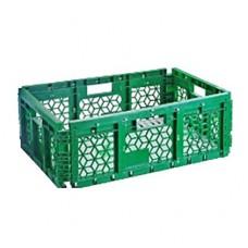 Ящик складной пластиковый перфорированный 595х395х220