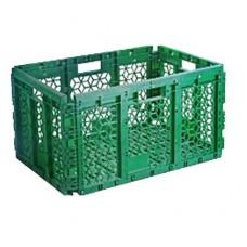Ящик складной пластиковый перфорированный 595х395х320