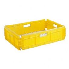 Ящик складной пластиковый перфорированный 595х395х165