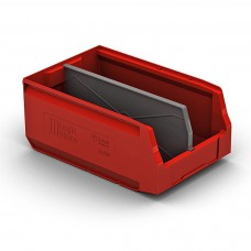 Пластиковый складской лоток 350х225х150 мм