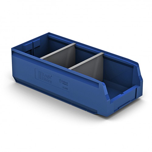 Пластиковый складской лоток 500х225х150 мм