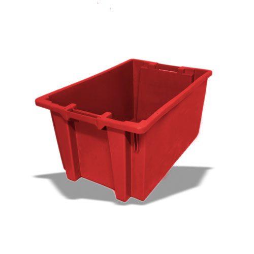 Ящик пластиковый 600х400х320 сплошной