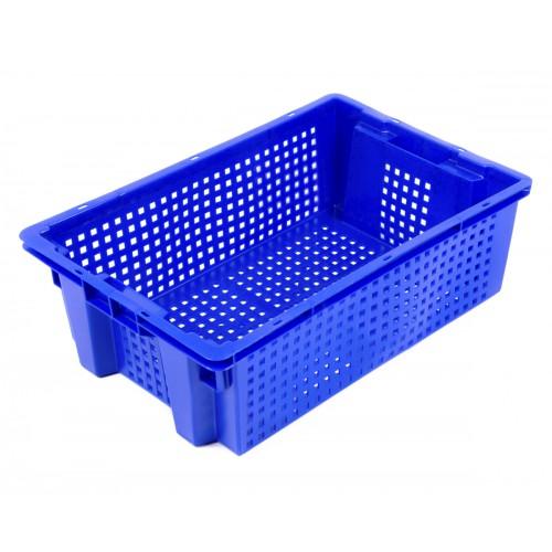 Ящик пластиковый овощной 2Д 600х400х200 1.3 кг