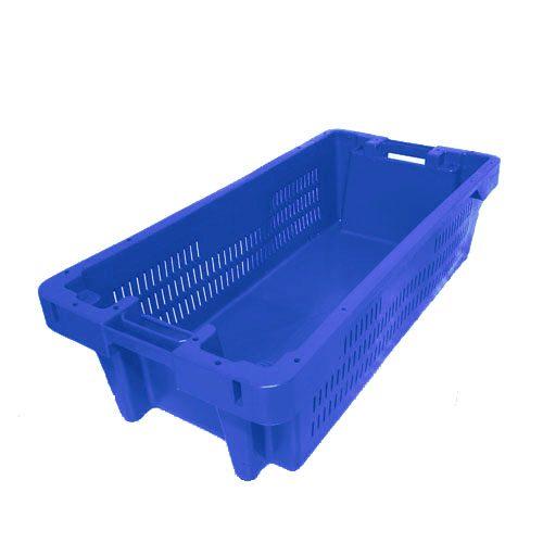Ящик пластиковый рыбный 800х400х225 (Р-02)