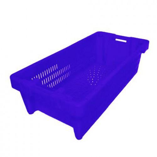 Ящик пластиковый рыбный 800х400х225 (Р-03)