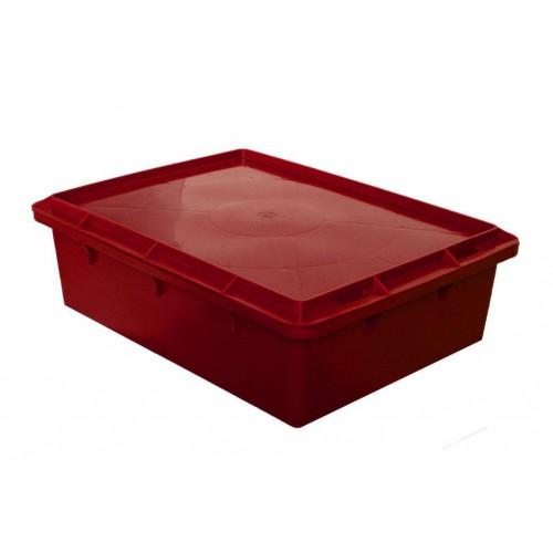 Ящик сырково-творожный №17 с крышкой 532х400х161