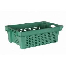 Ящик пластиковый овощной 2Д 600х400х200 1.6 кг