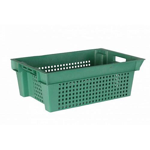 Ящик пластиковый овощной 2Д 600х400х200 1.4 кг