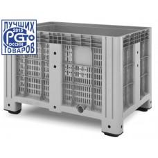 Перфорированный контейнер iBox 1200х1000 (на ножках)