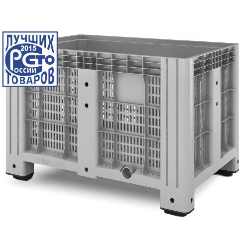 Перфорированный контейнер iBox 1200х800 (на ножках)