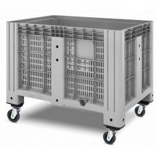 Перфорированный контейнер iBox 1200х800 (на колесах)