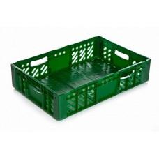 Ящик пластиковый 600х400х130 (овощной, помидорный)