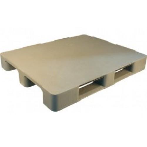 Паллет 1200х1000 гигиеническая серия усилен металлическим профилем для стеллажного хранения
