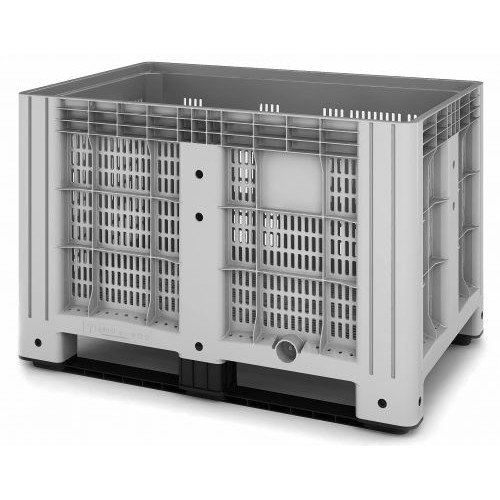 Перфорированный контейнер iBox 1200х1000 (на полозьях)