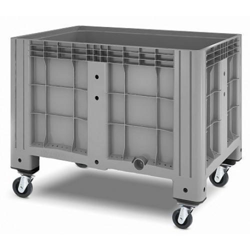 Сплошной контейнер iBox 1200х800 (на колесах)