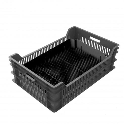 Ящик с лотоком для выгонки луковичных 600х400х190 (комплект)